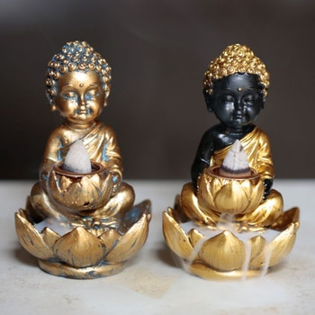 Liten Buddha Lotus Backflow