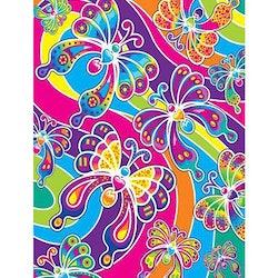 Diamanttavla Colorful Butterflies 30x40