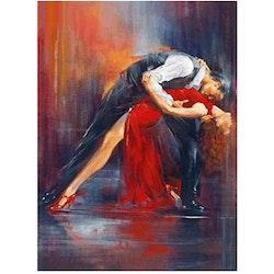 Diamanttavla Dancing Couple 40x50
