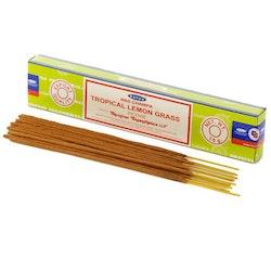 Satya Tropical Lemon Grass Nag Champa - Leveranstid 1-3 Dagar