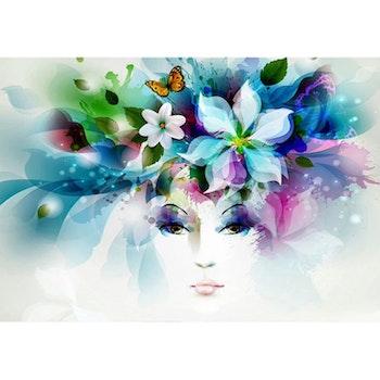 Diamanttavla (R) Flower Beauty 50x70