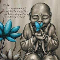 Diamanttavla Buddha Dream 60x60