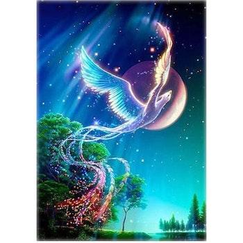 Diamanttavla (R) Magic Phoenix 70x90