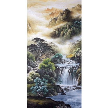 Diamanttavla Amazing Waterfall 60x120
