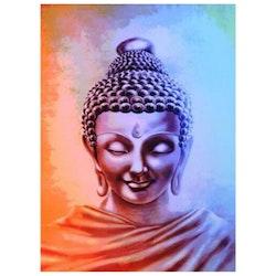 Diamanttavla (R) Buddha Soft Colors 40x50