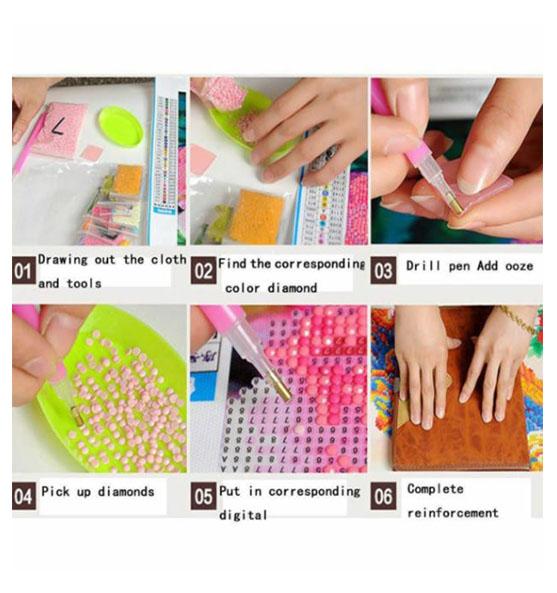 Diamanttavla (R) Buddha Soft Colors 40x50 - Leveranstis 1-3 Dagar