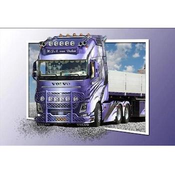 Diamanttavla Truck Frame 60x80