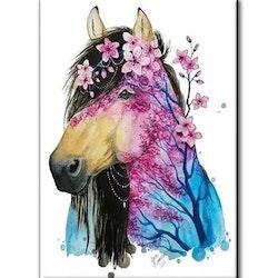 Diamanttavla Horse Nature 40x50