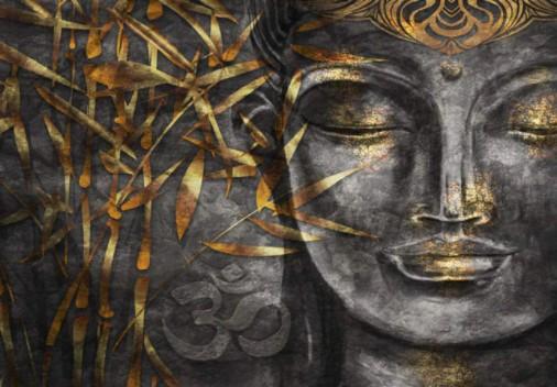 Diamanttavla Buddha Aum 60x80