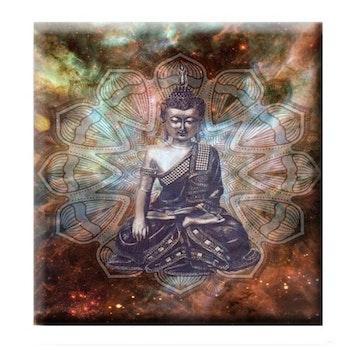 Diamanttavla Buddha Recieve 50x50