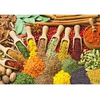 Diamanttavla Seasoning Spices 50x70