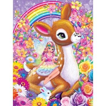 Diamanttavla Bambi And Fairy 60x80