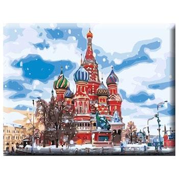 Paint By Numbers Vasilijkatedralen 40x50