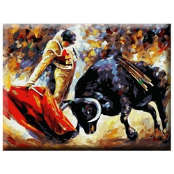 Paint By Numbers Matador 40x50