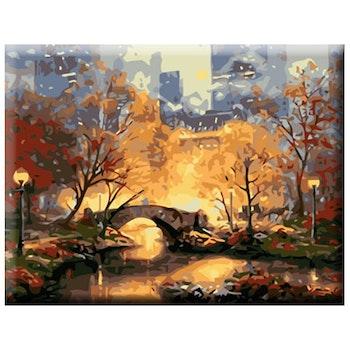 Paint By Numbers City Bridge 40x50
