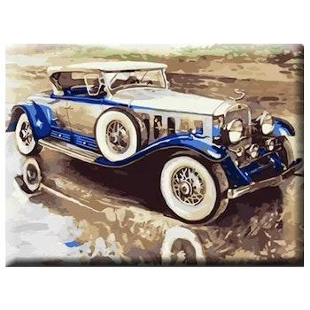 Paint By Numbers Bil Nostalgi 40x50