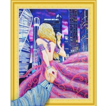 Diamanttavla Special Citygirl 40x50