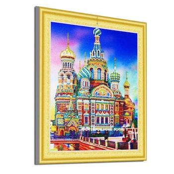 Diamanttavla Special Vasilijkatedralen 40x50