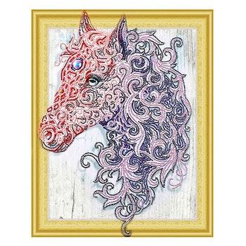 Diamanttavla Special Häst 40x50