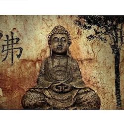 Diamanttavla Buddha Statue 70x90 - Leveranstid 1-3 Dagar