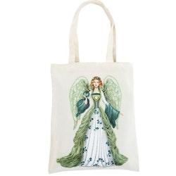 Diamanttavla Fairy Green 35x30