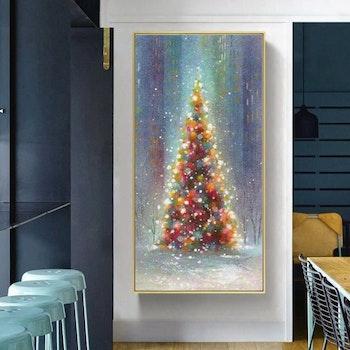 Diamanttavla Christmas Tree 50x100