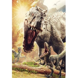Diamanttavla Tyrannosaurus 50x70 - Leveranstid 1-3 Dagar