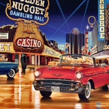 Diamanttavla Casino Drive 60x80