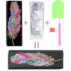Diamond Painting Glasögonfack Fether - Leveranstid 1-3 Dagar