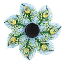 Diamond Painting Fidget Toy Påfågelsfjäder - Leveranstid 1-3 Dagar