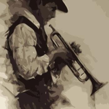 Paint By Numbers Music Man  50x70- Leveranstid 1-3 Dagar