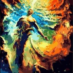 Paint By Numbers Godness  50x70- Leveranstid 1-3 Dagar