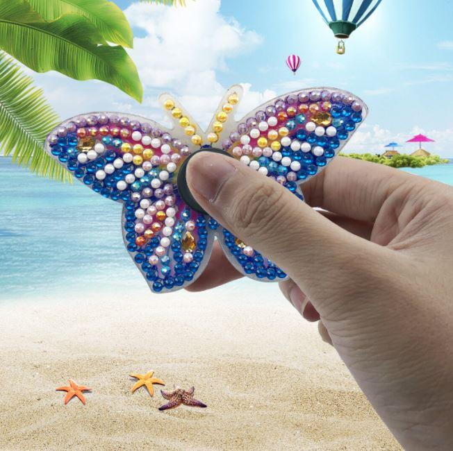 Diamond Painting Fidget Toy Butterfly - Leveranstid 1-3 Dagar