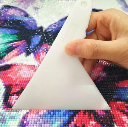 Diamond Painting Spatel vit