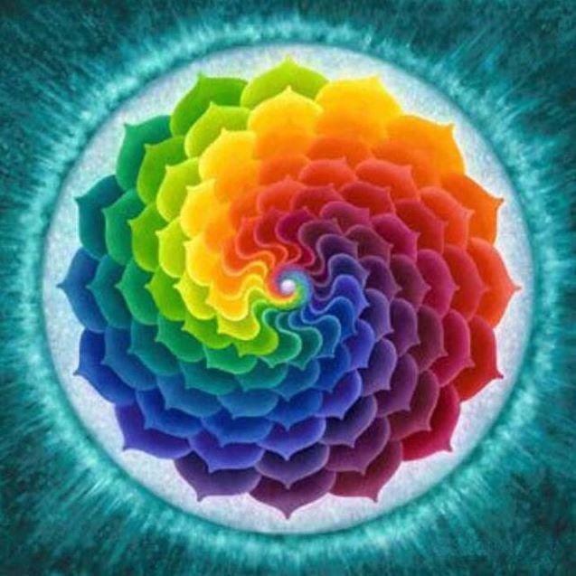 Diamanttavla Color Mandala 50x50