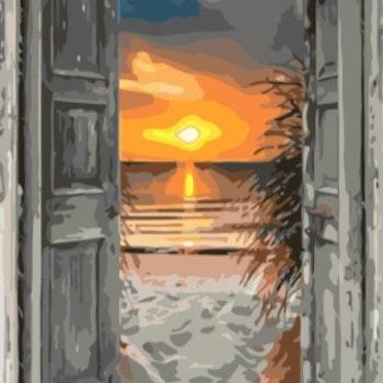 Paint By Numbers Ocean View 50x70- Leveranstid 1-3 Dagar