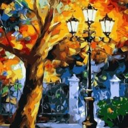 Paint By Numbers Color Light 50x70- Leveranstid 1-3 Dagar