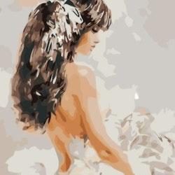 Paint By Numbers Bride 50x70 -Leveranstid 1-3 Dagar