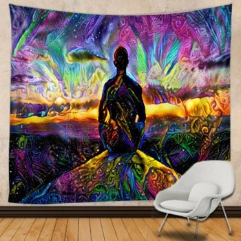 Gobeläng Tapestry Calm The Mind 200x150 Cm - Leveranstid 1-3 Dagar