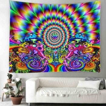 Gobeläng Tapestry Psychodelic 95x70 Cm - Leveranstid 1-3 Dagar