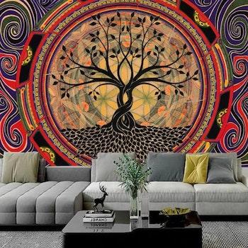 Gobeläng Tapestry Tree Of Life 150x100 Cm - Leveranstid 1-3 Dagar