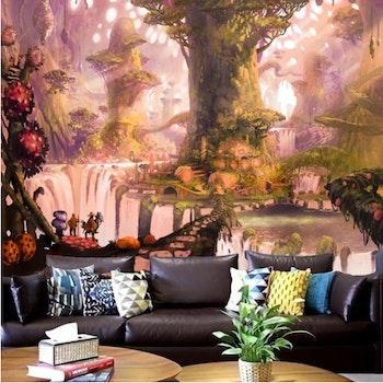 Gobeläng Tapestry Magic Forest 230x180 Cm - Leveranstid 1-3 Dagar