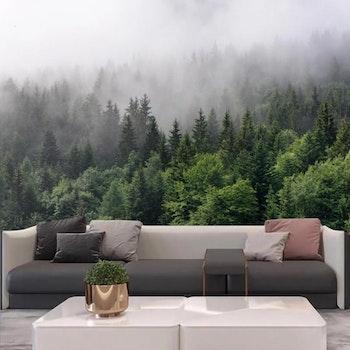 Gobeläng Tapestry Nordic Forest 150x150 Cm - Leveranstid 1-3 Dagar