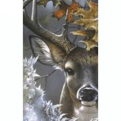 Diamanttavla Deer In Wood 50x70 - Leveranstid 1-3 Dagar