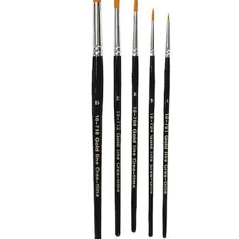 Gold Line Penslar Rund 2-7 mm - Leveranstid 1-3 Dagar