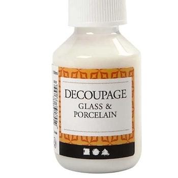 Decoupagelack Glas Och Porslin 100 ml - Leveranstid 1-3 Dagar