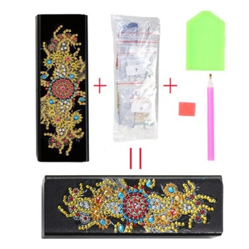 Diamond Painting Glasögonfack Symbols - Leveranstid 1-3 Dagar