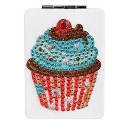 Diamond Painting Fickspegel Cupcake - Leveranstid 1-3 Dagar