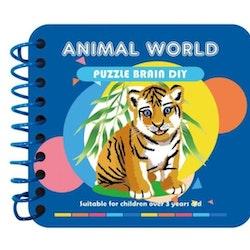 Diamond Painting Minibok Animal World - Leveranstid 1-3 Dagar