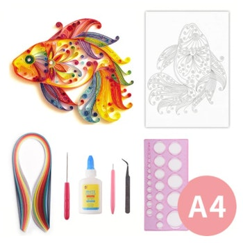 Quilling Fisk A4